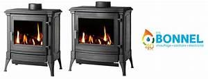 Poele A Gaz Avec Thermostat : ets bonnel efel gamme stanford gaz 8 et 10 ~ Premium-room.com Idées de Décoration
