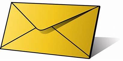 Envelope Letter Clipart Clip Icon Writing Transparent