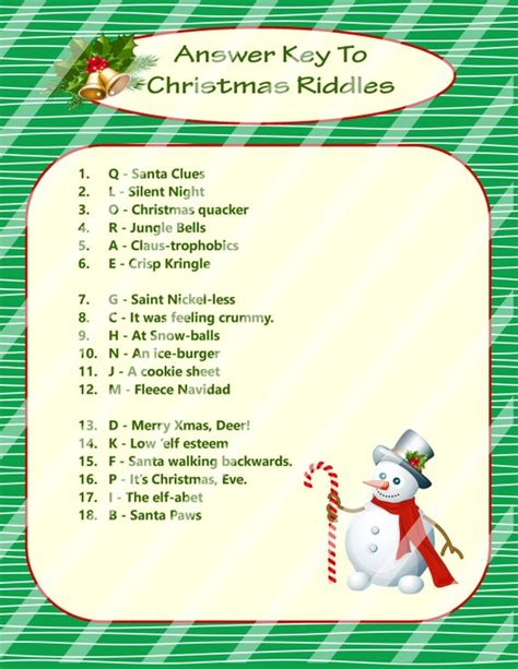 Christmas Riddles for Adults - Bing images
