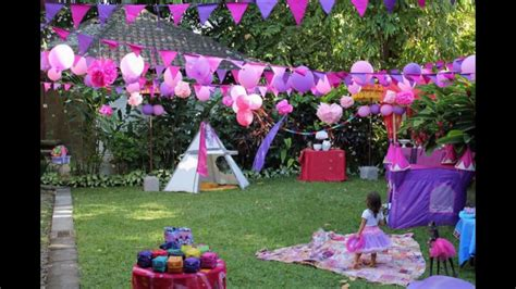 Garden Decoration by Birthday Garden Decoration Ideas