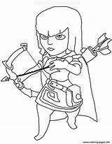 Clash Coloring Clans Archer Royale Printable Sheets Colorear Google Royal Prince Printerkids Para Drawing Archers Personajes Buscar Con Barbarian Clanes sketch template