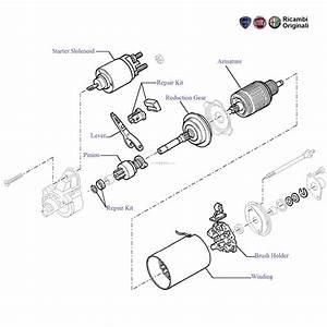 Fiat Punto 1 3 Mjd Diesel  Starter Components