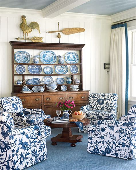 blue and white decor blue and white rooms