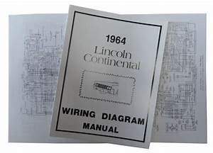 1964 Lincoln Continental Wiring Diagram Manual