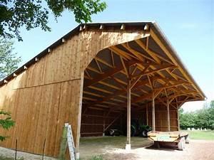 Hangar En Kit Bois : plan hangar agricole bois ~ Premium-room.com Idées de Décoration