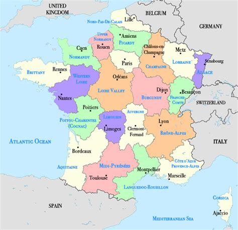 map  france  cities travelquazcom