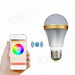 Smart Led Lampe : e27 5w colorful light bluetooth smart led lamp bulb for ios android free shipping dealextreme ~ Watch28wear.com Haus und Dekorationen