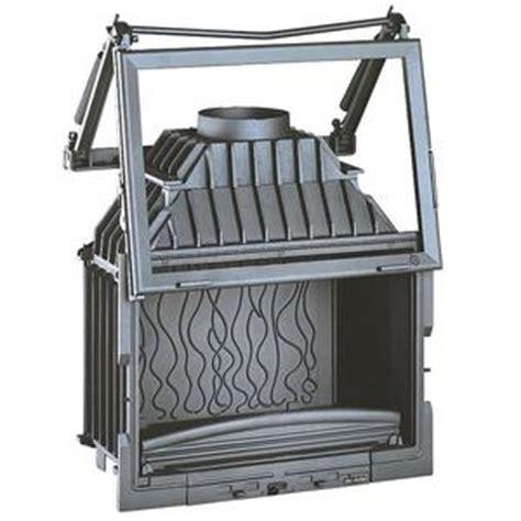 si鑒e de relevable cheminée à foyer fermé invicta foyer 700 grande vision porte relevable système avec ressort