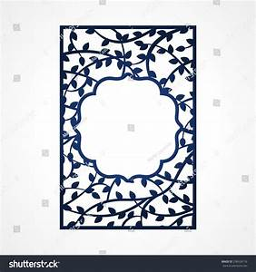 abstract vector frame tree branches may stock vector With laser cut wedding invitations vector free