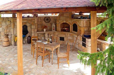 parrilleras  cocinas de verano rusticas house rustic