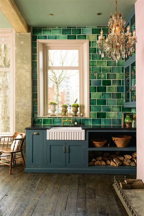 green tiles kitchen trends green and tropical turns up on tiles 1470