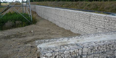 mur antibruit gabions