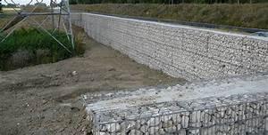 Mur En Gabion : mur antibruit gabions ~ Premium-room.com Idées de Décoration