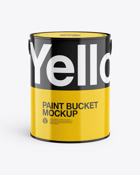 This paint bucket free mockup includes special layers and a smart object for your design. 20L Glossy Paint Bucket Mockup - 20L Glossy Paint Bucket ...