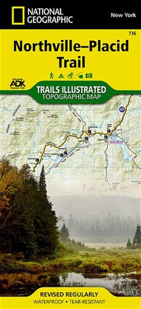 Northville Placid Trail Map [ti736]  $986 Trail
