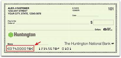 Check Number Order Serial Money Read Huntington