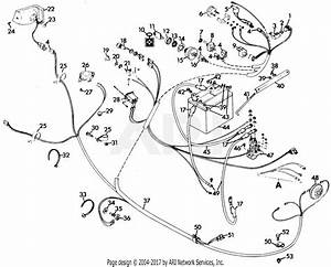 Gravely 50271 Gem  16hp B U0026s  Hydro Drive Parts Diagram For