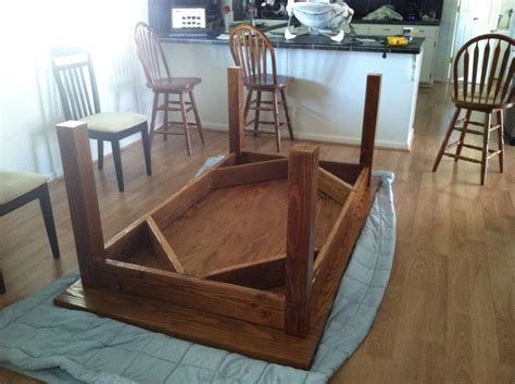 ana white customized farmhouse table diy projects