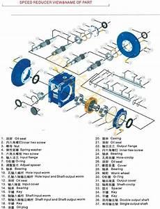 Nmrv030 Speed Reducer Manual Worm Gearbox Screw Jack