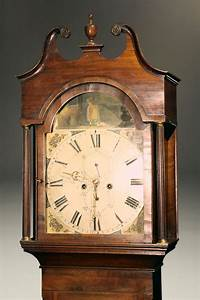 19th Century Antique English Tall Case Clock