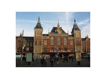 Amsterdam Station Centraal Stations Nederland Holland Train