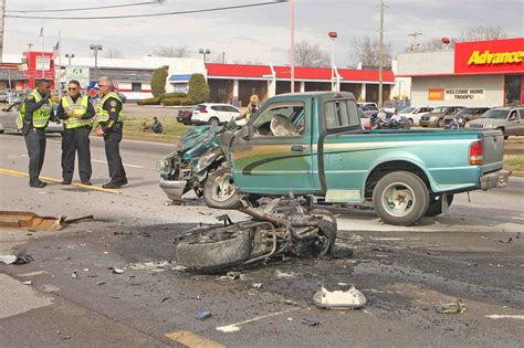 Man Killed In Motorcycle Crash On Fort Campbell Blvd