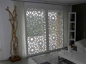 claustra bois helios With salle de bain design avec tole perforée décorative sur mesure