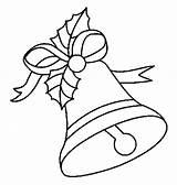 Coloring Bells sketch template