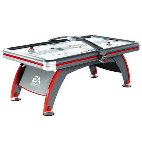 espn 84 air hockey table ea sports 84 39 39 fast line air powered hockey table