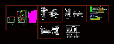 details dwg full project  autocad designs cad