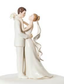 willow tree topper white porcelain and groom wedding cake topper