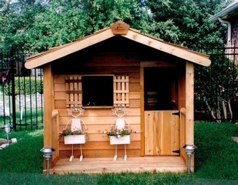 kids outdoor playhouse cedar playhouses  sale