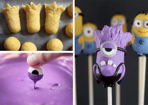 minion cake pops mini minions bakerella