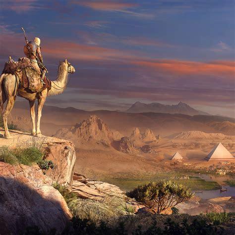 2932x2932 Pyramids Assassins Creed Origins Ipad Pro Retina