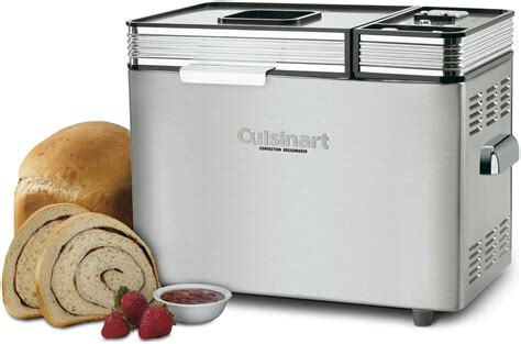 A bread machine is a kitchen appliance that kneads, mixes, and bakes your cake recipe into delicious bread. Cuisinart Bread Machine- 2-lb Convection | Bread maker machine, Bread machine reviews, Kitchen ...
