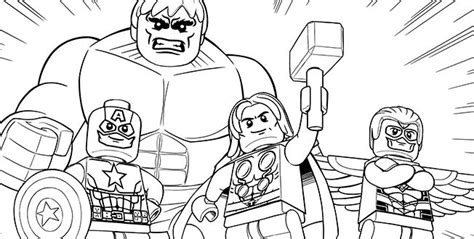 lego avengers 10 coloring sheet superhero coloring
