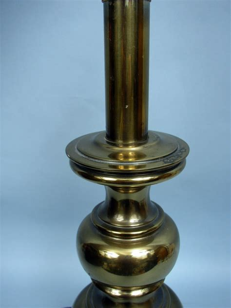 stiffel brass ls ebay stiffel vintage 26 quot solid brass traditional table l