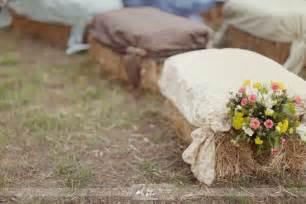hay wedding rustic wedding ideas