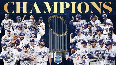 Dodgers Are MLB Champions After 32-Year Drought - The ...