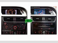 Audi Navigation Navi, Radio eftermontering Audi, A1