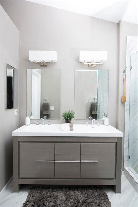 bathroom makeup vanity contemporary  mirror