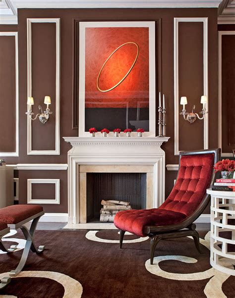 Showhouse Rooms with Red Accents  Traditional Home