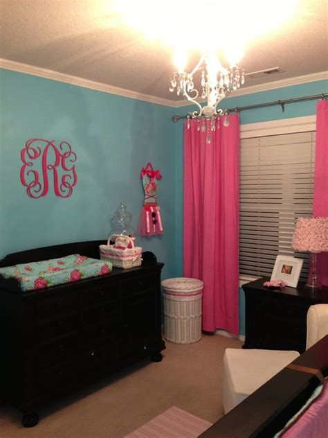 emerson 39 s pink and turquoise nursery project nursery