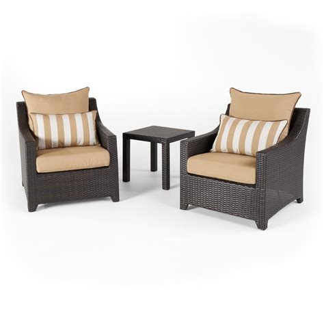beige rocking chairs patio chairs the home depot blue oak bahamas wicker 4 outdoor sofa seating set with sunbrella canvas beige