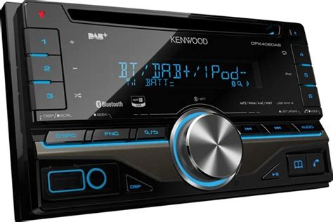 autoradio bluetooth dab bol kenwood dpx406dab autoradio dubbel din usb cd dab bluetooth