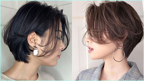 cutes korean short haircuts professional haircut youtube