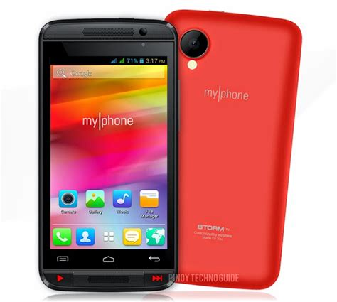 is my phone myphone tv now official for 2 799 specs and