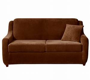 Sure fit strech pearson 3 piece full sleeper sofa for 3 piece sectional sofa with sleeper