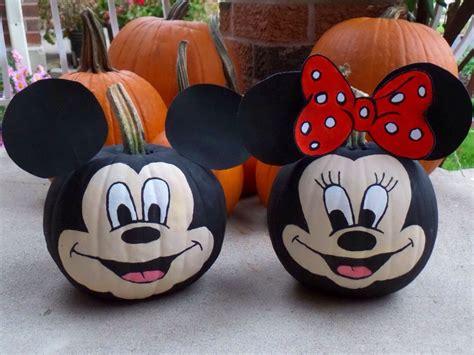mickey mouse pumpkin ideas mickey pumpkin painting pumpkins halloween minnie mouse mickeymouse halloween pumpkins
