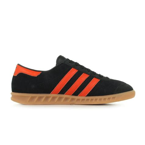 adidas basket montante homme chaussures baskets adidas homme hamburg taille noir cuir lacets ebay